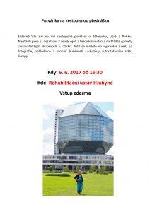 Cestopis, Bělorusko, Polínková, 6. 6. 2017
