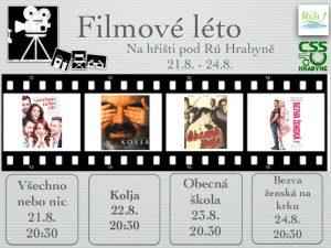 Filmové léto - Hrabyně