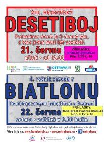 desetiboj + Biatlon 2019 plakát 2